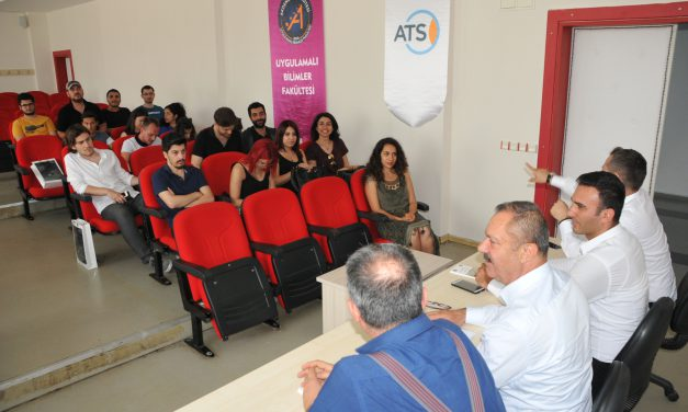 ATSO Üyelerinden Lojistik ve Pazarlama Öğrencilerine İş Teklifi