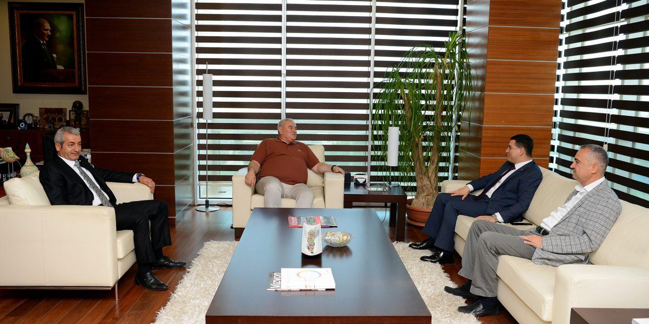 ATSO Yönetimi, Başkan Tütüncü'yü Konuk Etti