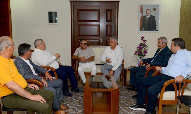 ATSO Yönetimi'nden Serik ve Manavgat ziyaretleri