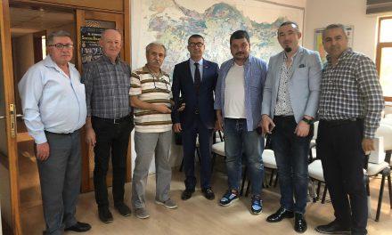 44.Grup Jeoloji Mühendisleri Odası Antalya Şubesi'ni Ziyaret Etti
