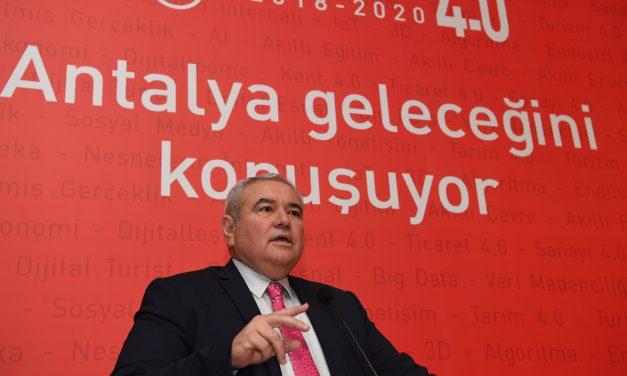 ATSO Antalya 4.0 Projesi Türkiye'ye Örnek Olacak