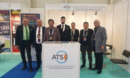 """14. Grup Meslek Komitesi """"Petroleum İstanbul 2019 Fuarı""""na katıldı"""