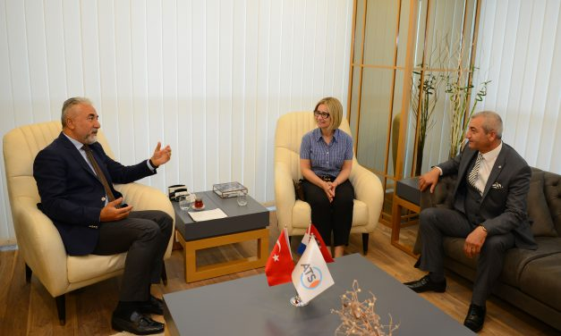 Hırvatistan Başkonsolosu'ndan ATSO'ya Ziyaret