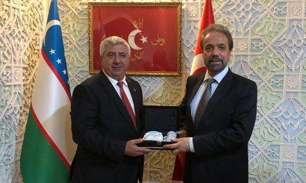 ATSO Tarım Kümesi Özbekistan'da Temaslarda Bulundu